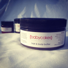 babycakes: hair and body butter
