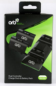 ORB Dual Controller Charge Dock Includes batteries XBOX ONE