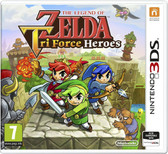 The Legend Of Zelda Tri Force Heroes Nintendo 3ds & 2DS