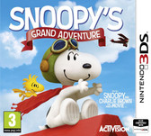 Peanuts Movie Snoopy's Grand Adventure Game Nintendo 3DS 2DS