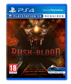 Until Dawn Rush of Blood Playstation 4 VR PS4 PSVR