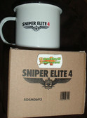 Sniper Elite 4 Limited Edition Enamel Coffee Mug Cup