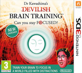 Dr Kawashima's Devilish Brain Training Can You Stay Focussed? Nintendo 3DS 2DS