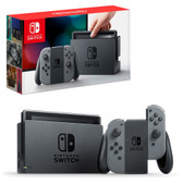 Nintendo Switch 32GB Grey Console with Grey Joy-Controller