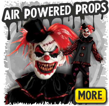 air powered pneumatic halloween props - How To Make Animated Halloween Props
