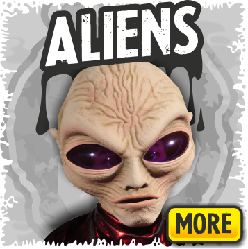 Alien & Sci-Fi Monster Halloween Masks
