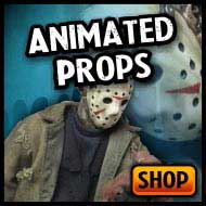 Animated decorations & haunted house animatronics