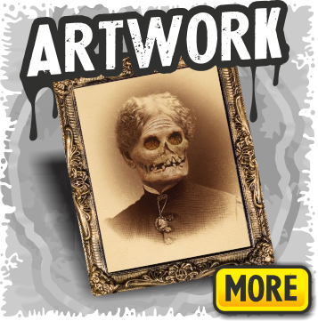Scary Halloween Art & Haunted Portrait Decorations