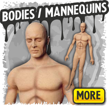 Fake Bodies & Mannequins for Halloween Decorations