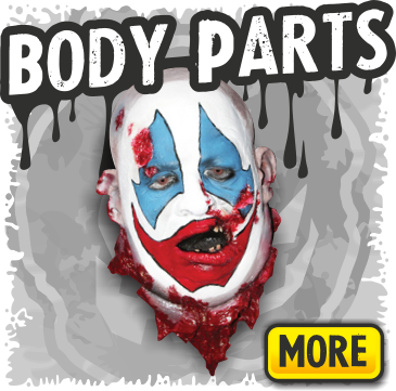 Body Part Props for your Haunted House or Halloween