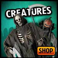 Creatures, aliens, witches, vampires, zombies and more for Halloween