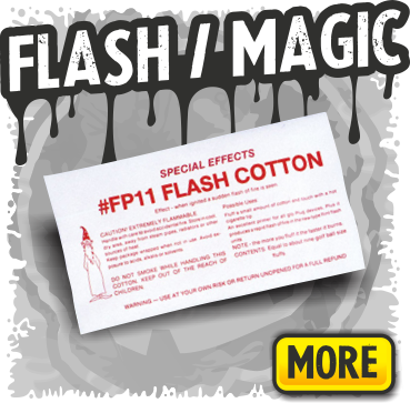 Flash Paper, Flash Cotton and Magic Effects