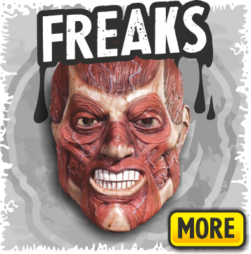 Scary Freaks & Creepy Mutant Halloween Masks