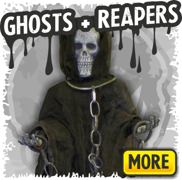 Scary Ghost & Reaper Halloween Decorations
