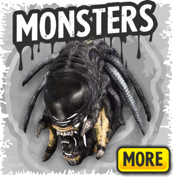 Scary Latex Monster Masks for Halloween