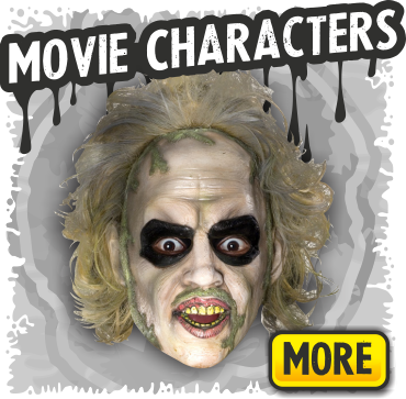 Movie Characters & Pop Culture Halloween Masks