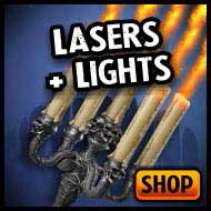 Best special FX – lasers & lights, LED, strobe, blacklight
