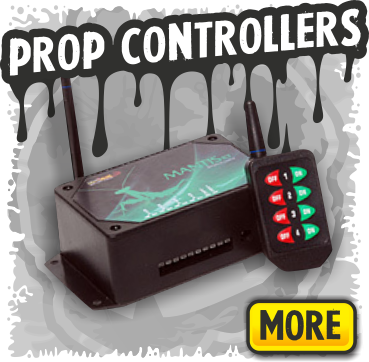 Prop Controllers for Home Built DIY Halloween Props