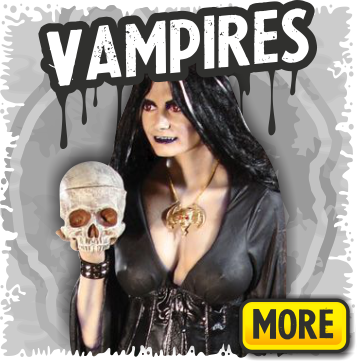 Vampire Props and Vampires for Halloween and Haunted Houses