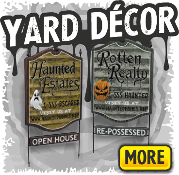 Creepy  Signs & Yard Decorations for Halloween