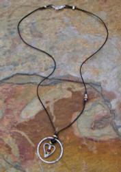 Encompassing Love Linen Necklace