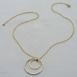 Rings of Balance Necklace