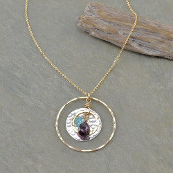 Charmed Teardrop Necklace
