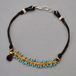 Trickling Turquoise Bracelet