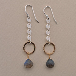 Dreamy Labradorite Earrings