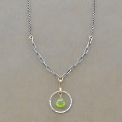 Radiant Peridot Necklace