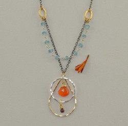 Enlightened Carnelian Necklace