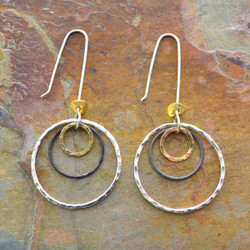 Encompassed Circles Earrings