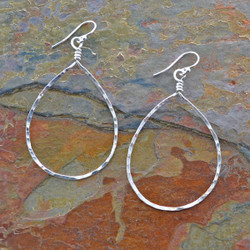 Sterling Drop Earrings