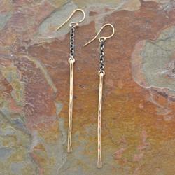 Stems of Gold Earrings