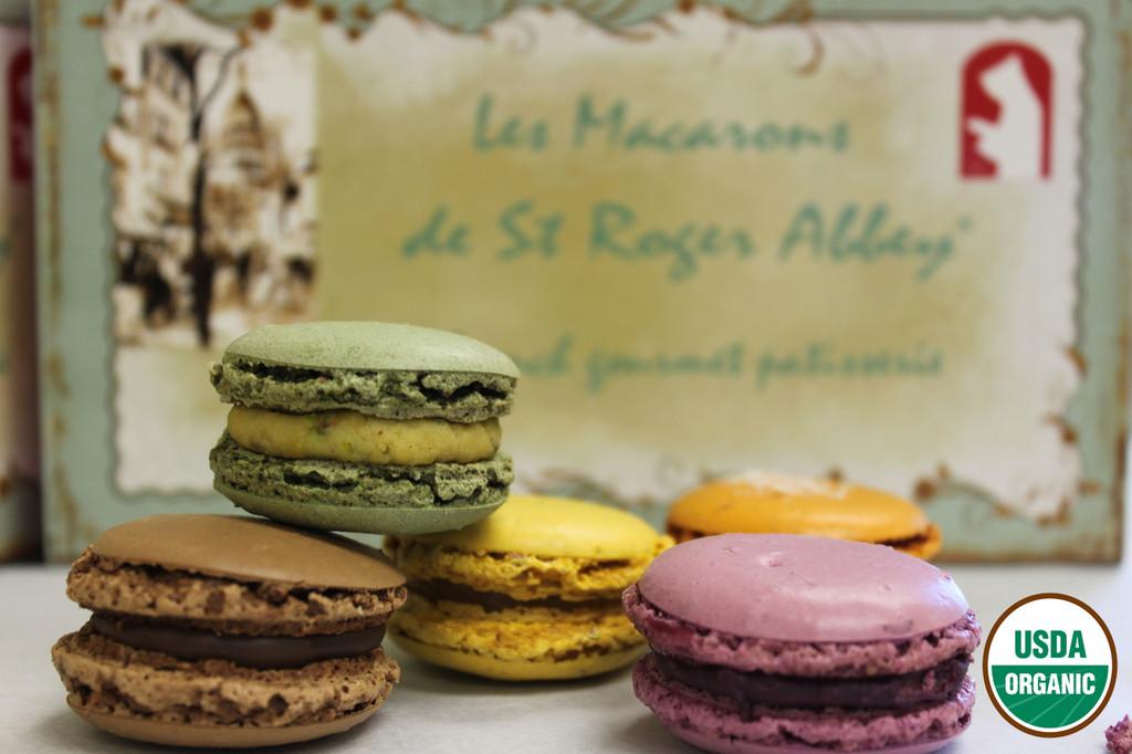 ORGANIC PARIS MONTMARTRE MACARON ASSORTMENT