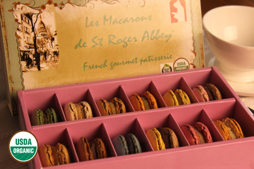 ORGANIC PARIS MONTMARTRE MACARON ASSORTMENT