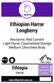 Single Origins - Ethiopian ET Harrar Grade 4 Longberry 'East'