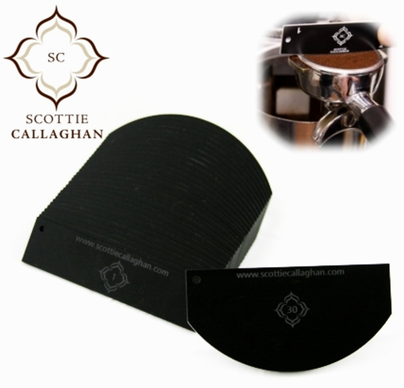 Scottie Callaghan Dosing Tools for the Home/Professional Barista ( 30 Piece )