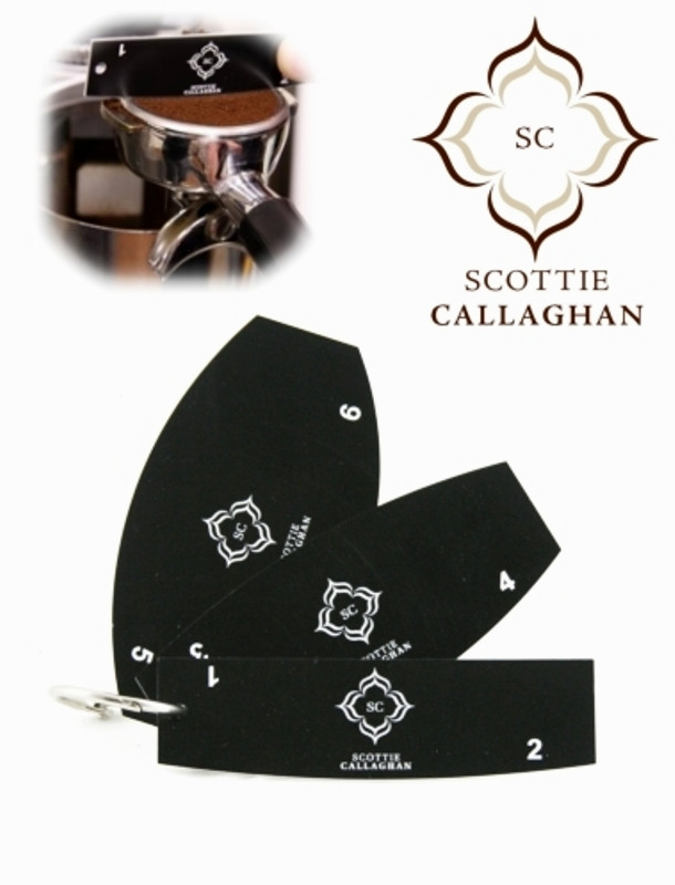 Scottie Callaghan Dosing Tools for the Home/Professional Barista ( 3 Piece )