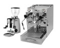 Vibiemme Domobar Super Double Boiler and Mazzer Mini Manual Grinder Combo