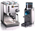 Rancilio Silvia and Rocky Doserless Combo