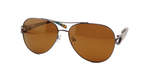 C1 Orange/Blue Mosaic w/ Bronze Mirrored Polarized Lenses