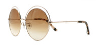 C2 Light Gold w/ Brown Gradient CR39 Lenses