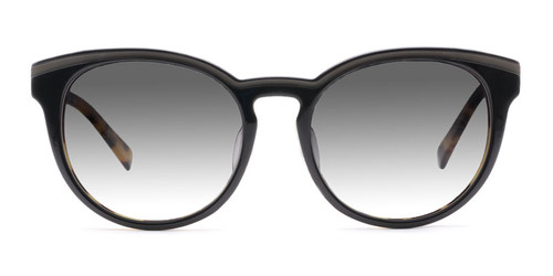 C1 Jet Black & Tortoise w/ Smoke Gradient Polarized Lenses