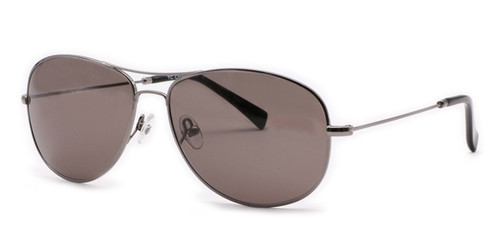 C1 Gunmetal w/ Solid Gray CR39 Lenses
