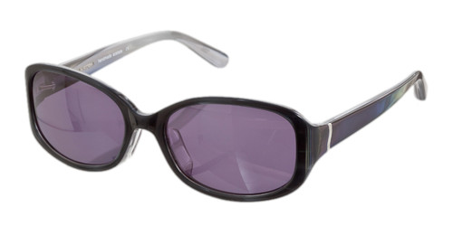 C1 Black/White w/ Solid Gray Polarized Lenses