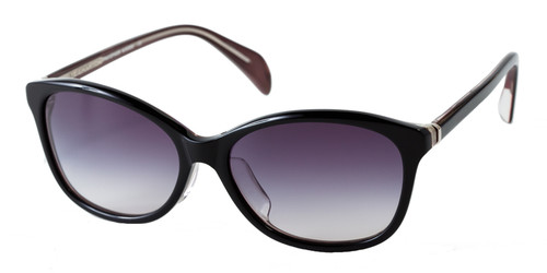 C1 Black/Champagne w/ Gray Gradient Polarized Lenses