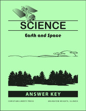 A Beka Science Earth and Space QUIZES and QUIZ KEY ~ Grade 8 Very Good ~ Current