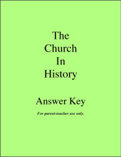 The Church in History - Answer Key