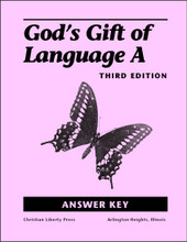 God's Gift of Language A, 3rd edition - Answer Key